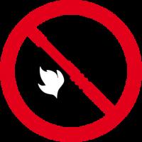 Vietato fumare e usare fiamme libere