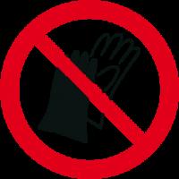 Vietato indossare i guanti