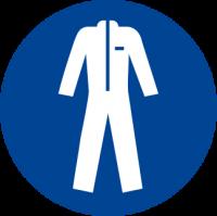Obbligatorio indossare gli indumenti protettivi