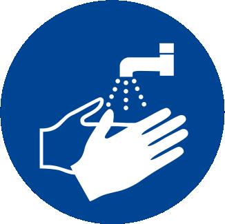 Obbligatorio lavarsi le mani