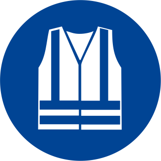 Obbligatorio indossare indumenti ad alta visibilità