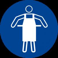 Obbligatorio indossare il grembiule protettivo