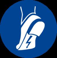 Obbligatorio indossare calzature antistatiche