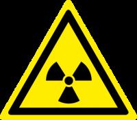 Pericolo materiale radioattivo o radiazioni ionizzanti