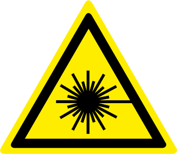 Pericolo raggio laser
