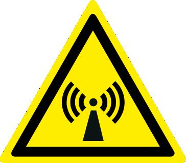 Pericolo radiazioni non ionizzanti
