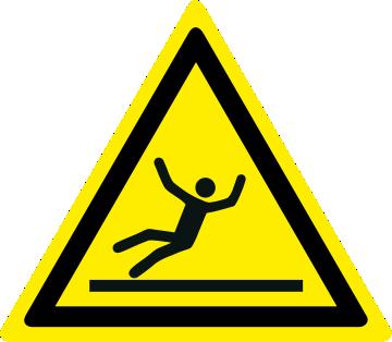 Pericolo attenzione superficie scivolosa