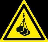 Pericolo carichi sospesi