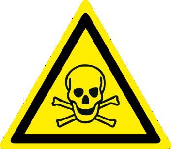 Pericolo sostanze tossiche