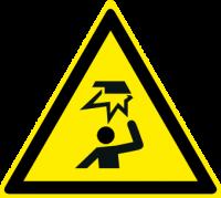 Pericolo ostacolo in alto
