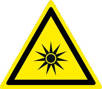 Pericolo radiazioni ottiche