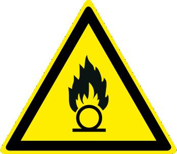 Pericolo sostanze comburenti