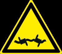 Pericolo filo spinato