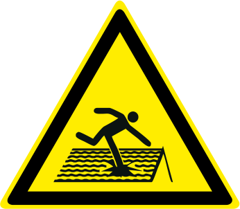 Pericolo tetto fragile